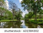 the green garden beautiful park ... | Shutterstock . vector #631584302
