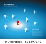 minimalist people network 3d... | Shutterstock .eps vector #631597142