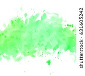 illustration of green... | Shutterstock . vector #631605242