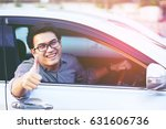 excited young man thumbs good...   Shutterstock . vector #631606736