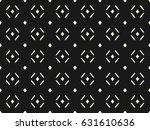 vector monochrome seamless... | Shutterstock .eps vector #631610636