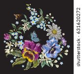 Embroidery Trend Floral Patter...