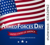 armed forces day template... | Shutterstock .eps vector #631626962