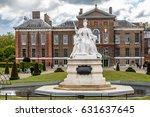 queen victoria monument near... | Shutterstock . vector #631637645