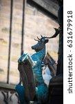 Statue Of Deer Near St. Giles...