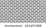 Seamless Pattern Shark  ...
