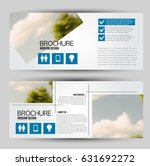 flyer template. banner or web... | Shutterstock .eps vector #631692272