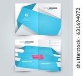 abstract flyer design... | Shutterstock .eps vector #631694072