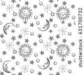 vector illustration black and... | Shutterstock .eps vector #631700732