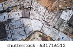 top view site of big... | Shutterstock . vector #631716512