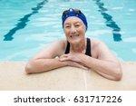 portrait of smiling senior... | Shutterstock . vector #631717226