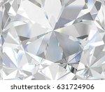 realistic diamond texture close ...   Shutterstock . vector #631724906