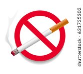 no smoking area label. detailed ... | Shutterstock .eps vector #631725302