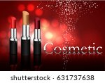 beauty concept  idea for a... | Shutterstock .eps vector #631737638