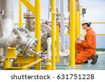 production operator checking... | Shutterstock . vector #631751228