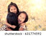 Happy Asian Little Girls...