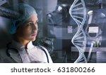 portrait of female doctor | Shutterstock . vector #631800266
