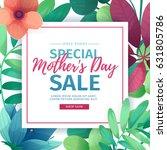 template design discount banner ... | Shutterstock .eps vector #631805786
