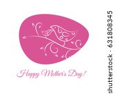 banner happy mothers day. card... | Shutterstock .eps vector #631808345