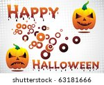 happy halloween. clip art | Shutterstock .eps vector #63181666