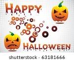 happy halloween. clip art | Shutterstock .eps vector #63181666
