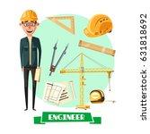Engineer Profession Cartoon...