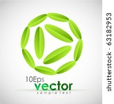 eco concepts. vector... | Shutterstock .eps vector #63182953