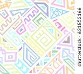 seamless vector texture in... | Shutterstock .eps vector #631852166