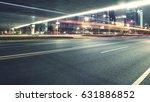 city night scenes at shenzhen... | Shutterstock . vector #631886852