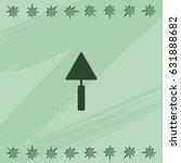 trowel icon.