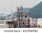 industrial zone the equipment... | Shutterstock . vector #631906982