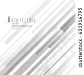 white straight stripes back... | Shutterstock .eps vector #631916795