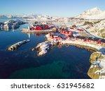 Aerial View Of Lofoten Islands...