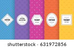 cute bright seamless pattern... | Shutterstock .eps vector #631972856