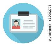 identity icon | Shutterstock .eps vector #632002775