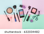 set of professional decorative... | Shutterstock . vector #632034482