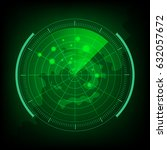 new radar   Shutterstock .eps vector #632057672
