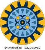 mandala. decorative elements....   Shutterstock . vector #632086982