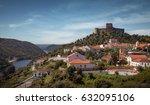 landscape of belver village and ...   Shutterstock . vector #632095106