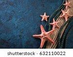 summer time sea vacation... | Shutterstock . vector #632110022