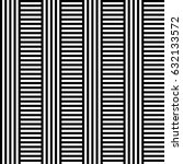 seamless pattern with black...   Shutterstock .eps vector #632133572
