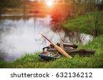 fishing tenkara | Shutterstock . vector #632136212
