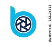 b logo | Shutterstock .eps vector #632136515