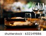 luxury table setting | Shutterstock . vector #632149886