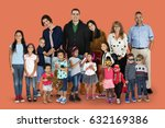 diversity people family... | Shutterstock . vector #632169386