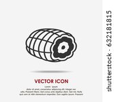 meat icon | Shutterstock .eps vector #632181815