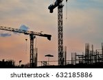 real estate project by the... | Shutterstock . vector #632185886