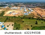 land development industrial... | Shutterstock . vector #632194538