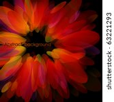 Abstract Red Petals. Use For...