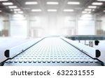empty conveyor belt 3d rendering | Shutterstock . vector #632231555